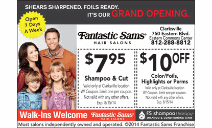 Fantastic Sams is an amazing location for all kinds of goodies, and treats for hair! Want to pamper your amazing tresses without the fuss of a typical salon? Skip out on the waiting time and check out Fantastic Sams, and find out why Sams is so Fantastic!