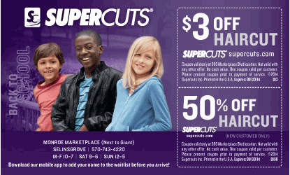photo about Supercuts Printable Coupons identify Supercuts terms coupon : Drive williamsburg va
