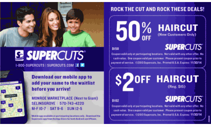 photograph relating to Supercuts Printable Coupons referred to as Supercuts cell coupon codes - Foxwoods on line casino resort savings