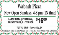 Wabash Pizza