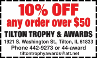 Tilton Trophy & Awards