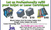 Ink Spot Printing