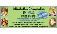 Elizabbeth Keepsake