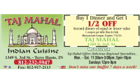 Taj Mahal Indian Cuisine