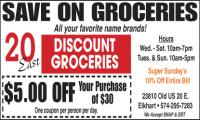 20 East Discount Groceries