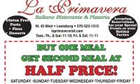 La Primavera Italiano Ristorante & Pizzeria