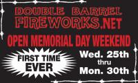 Double Barrel Fireworks