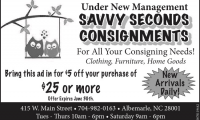 Savvy Seconds Consignment