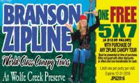 Branson Zipline Canopy Tour