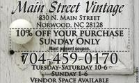 Main Street Vintage