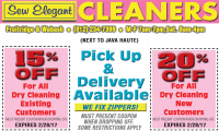 Sew Elegant Cleaners