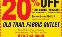 Old Trail Fabric Center