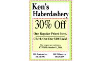 Kens Haberdashery