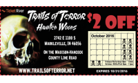 Trails of Terror Haunted Woods