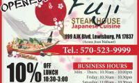 Fuji Steak House Japanese Cuisine