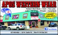 Apos Western Wear