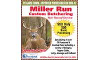Miller Run Custom Butchering