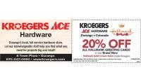 Kroegers, Inc. - Ace