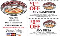 Back Shop Pizza