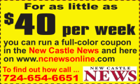 NEW CASTLE NEWS