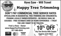 Happy Tree Trimming