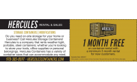 Hercules Storage Containers LLC