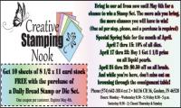 Creative Stamping Nook