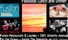 Fusion Restaurant and Lounge-50% off Lunch or Dinner on the Ocean