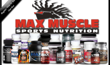 Max Muscle-$30 of Nutrition Products, Weight Loss Products, & More at Max Muscle Sports Nutrition for Only $15!