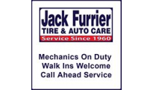 Jack Furrier Tire & Auto Care-$50 worth of automotive services at Jack Furrier Tire & Auto Care Centers for $30