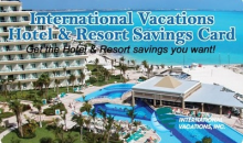 International Vacations, Inc-50% Off Hotel & Resort Savings Card - Enjoy 2 Full Years of Hotel Savings