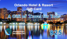International Vacations, Inc-50% Off Orlando Hotel & Resort Gift Card