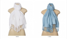 Gifts and Needs-Soft and Cozy Pashmina Scarves - 7 Colors