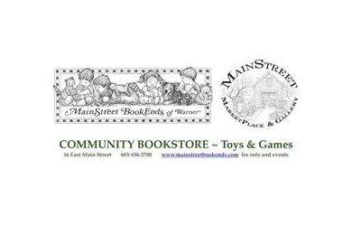 MainStreet BookEnds-$10 for $20 towards all Books, Toys, Games and Cards at MainStreet BookEnds of Warner