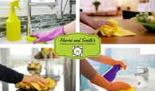 Harris and Smith's Personalized Home Cleaning-$69 for 2-Hours of Cleaning OR $79 for 3-Hours of Cleaning (2 cleaners each for 2 or 3 hours)
