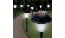 Deal Current TMG-$29 for Set of 8 Bright Solar Accent Lights - Cordless (82-5629)