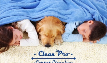 Clean Pro Carpet Cleaning-$119 for up to 3,000 Square Feet of Carpet Cleaning from Clean Pro Carpet Cleaning ($298 Value)