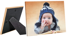 MailPix-$5 for 8x10 Custom Easel Photo Canvas