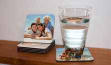 MailPix-$12.99 for Custom Photo Coasters