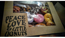 Peace, Love, and Little Donuts-Half off at Peace, Love, and Little Donuts in the Strip, Bethel Park, and Bridgeville!