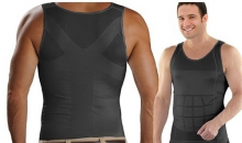 Deal Current-$16 for Men's Slimming Body-Support Undershirt