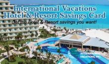 International Vacations, Inc-50% Off Hotel & Resort Savings Card - Enjoy 2 Full Years of Hotel Savings