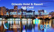 International Vacations, Inc-50% Off Orlando Hotel & Resort Gift Card