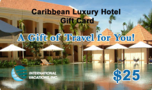 International Vacations, Inc-50% Off Caribbean Luxury Hotel Gift Card