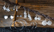 Deal Current-$20 for 9-Piece Set: Essential Sterling Silver Earrings - Shipping Included
