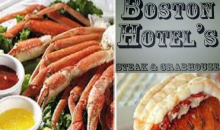 Boston Hotel-$12.50 For $25 To Spend On Steak, Seafood & More At The Boston Hotel (Boston Location)