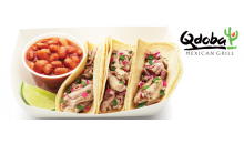 Qdoba-$30 in certificates to Qdoba Mexican Grill for just $12.99! Special price ends at midnight!