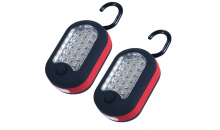 Deal Current TMG-$11 for Set of 2: Super Bright LED Worklights with Magnetic Back