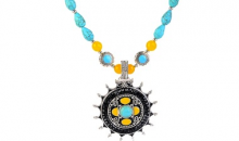 Deal Current RM-$17 for BOHO PRINCESS TURQUOISE & AGATE NECKLACE