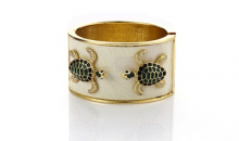 Deal Current RM-$15 NAUTICAL TURTLE CUFF BRACELET